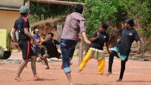 Gender Neutral Football, Footbal, KSSP, Kerala Sasthra Sahithya Parishad, Kasargod Match, Football Final