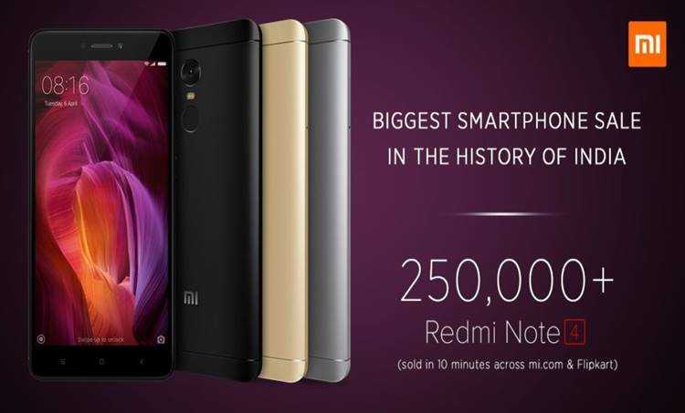 Xiaomi,Redmi Note 4, phone, india