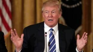 Donald Trump, US President,