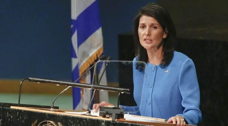 US ambassador to UN, Nicky Hale says her mother was denied judgement ship because of gender