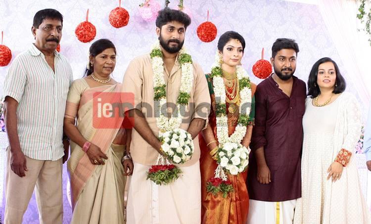 dhyan sreenivasan, marriage, arpitha
