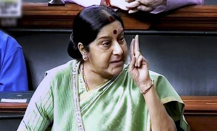 Shashi Tharoor, Sushama Swaraj, Kulbhushan Jadhav, pakistan