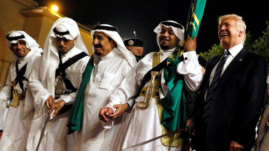 trump visits saudi arabia