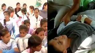 Hariyana hunger strike, school girls hunger strike, 86 girl students strike, hariyana girl students strike, molestation, attempt to rapee cases in hariyana, school students asks to save from molestation