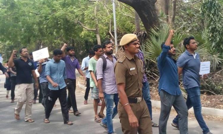 Beef Fest Attack, Madras IIT, IIT Madras, Sooraj, Students of Madras IIt, Madras IIT Protest, ബീഫ് ഫെസ്റ്റ് ആക്രമണം, ബീഫ് ഫെസ്റ്റ്, മദ്രാസ്