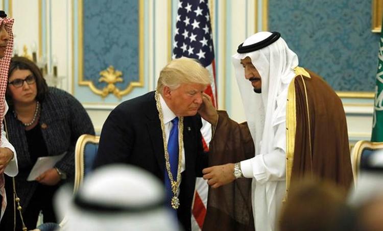 Donald Trump, Soudi King