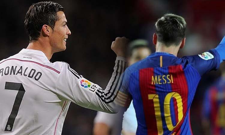 Cristiano Ronaldo, Messi