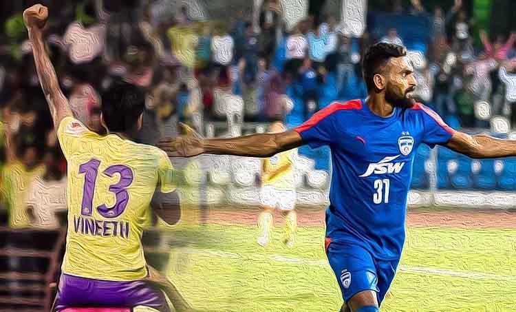 CK Vineeth, Indian football, Kerala blasters, Bengaluru FC