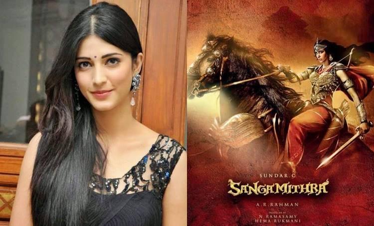 Shruti Haasan, Sanghamitra