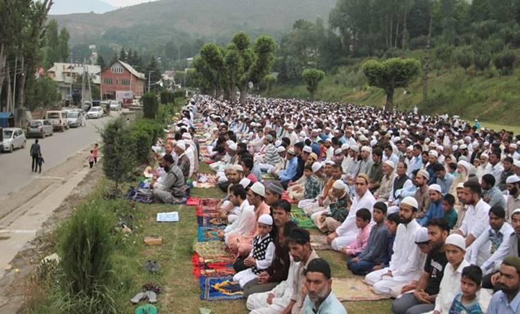 Eid, Kashmir