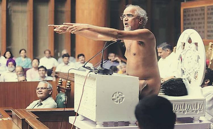 Jain monk, Tarun Sagar