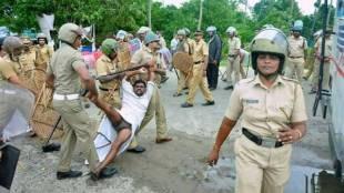Puthuvype, പുതുവൈപ്പിൻ സമരം, ഐഒസി പ്ലാന്റ് സമരം, Puthuvype IOC Plant protest, Police action on Puthuvype strike, പുതുവൈപ്പിനിലെ പൊലീസ് സമരം