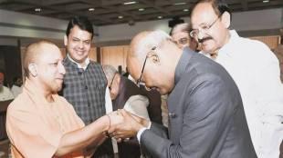 Ram nath Kovind, Yogi Adityanath