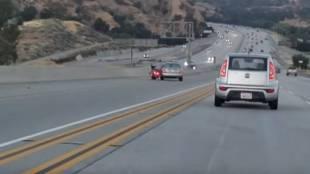 road accident, california