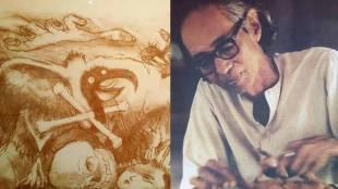 somnath hore, artist, j. binduraj