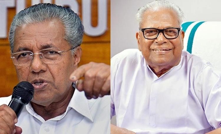 VS Achudhanathan Pinarayi Vijayan CPIM LDF