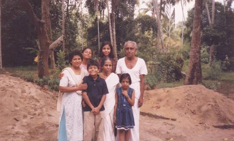 MN Vijayan, Sarada