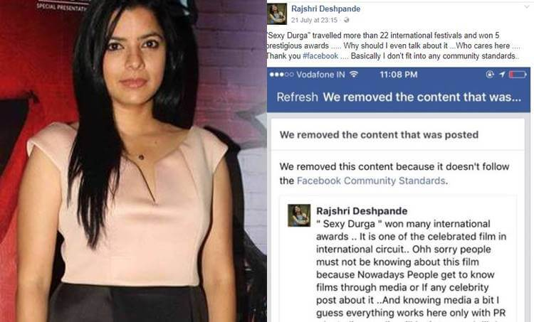 Rajshri Deshpande, Sexy Durga
