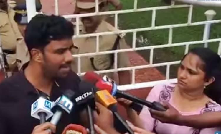feni balakrishnan, actress attack