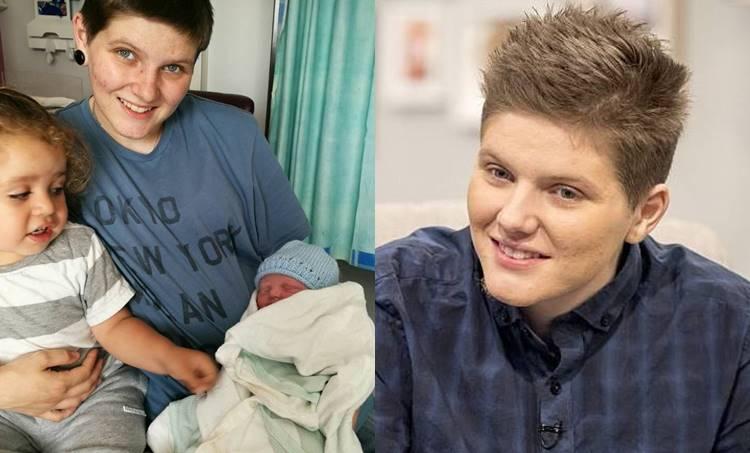 Hayden Cross, britain First Pregnant Man