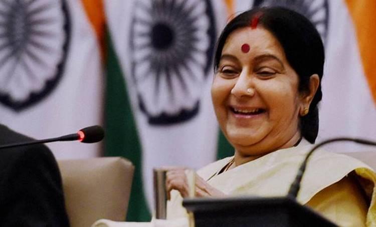 Sushama Swaraj, Pakisthan