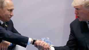 U.S. President Trumpt PutinHamburg