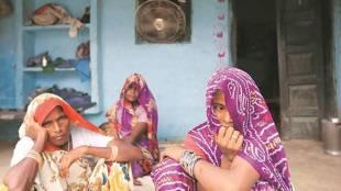 Hair chopping, dalit woman