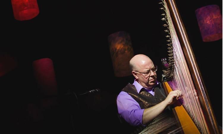 robin huw bowen, dyfi, harp,