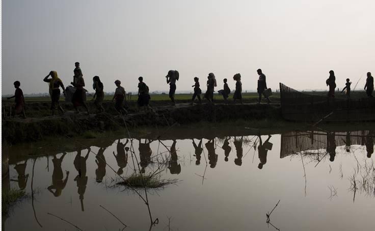 Rohingya, AP, Bernat Armangue,Shebeen,