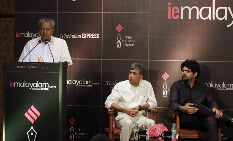 pinaryi vijayan, ie malayalam, mobile app, kerala@60,