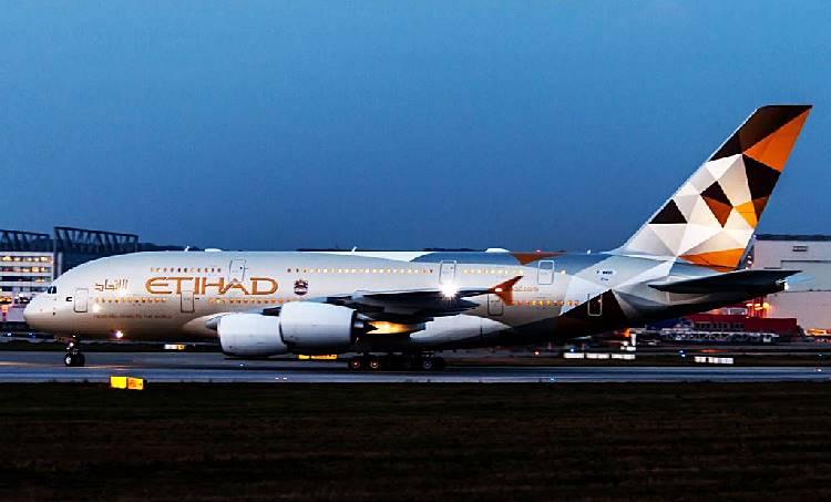 Flight Ethihad
