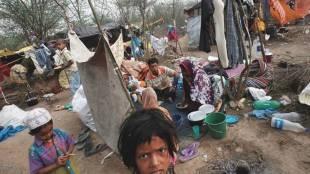 Rohingya, Rohingyas attacked, attack on Rohingyas New Delhi, Rohingyas in Delhi, Rohingya refugee, Rohingya refugee shelter, Rohingya muslims, J&K Rohingya, J&K Rohingya shelter, jammu Rohingya refugee, myanmar Rohingya muslims, indian express news, india news