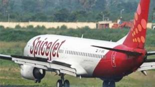 man with knife on flight, passenger carrying knife on flight, spicejet, spicejet flight passenger carrying knife, spicejet airlines, indian express news