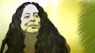 Writer Anitha Nair - Illustration