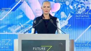 Sophia, Soudi Arabia, Robot