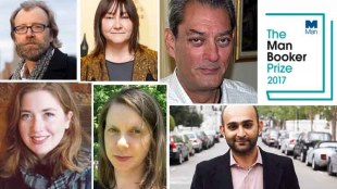 booker prize 2017, 4321, Paul Auster History of Wolves, Emily Fridlund Exit West,Mohsin Hamid , Elmet, Fiona Mozley Lincoln in the Bardo, George Saunders, Autumn, Ali Smith