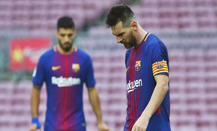 lionel messi, barcelona, barcelona vs las palmas, la liga, football news, sports news, indian express