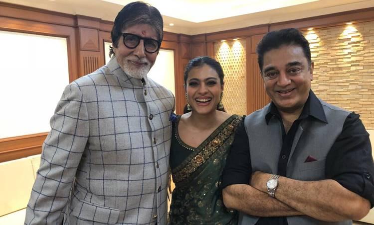 Amitabh Bachchan, Kajol, Kamal Haasan