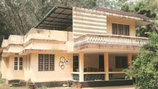 The house near Kochi where the yoga centre ran