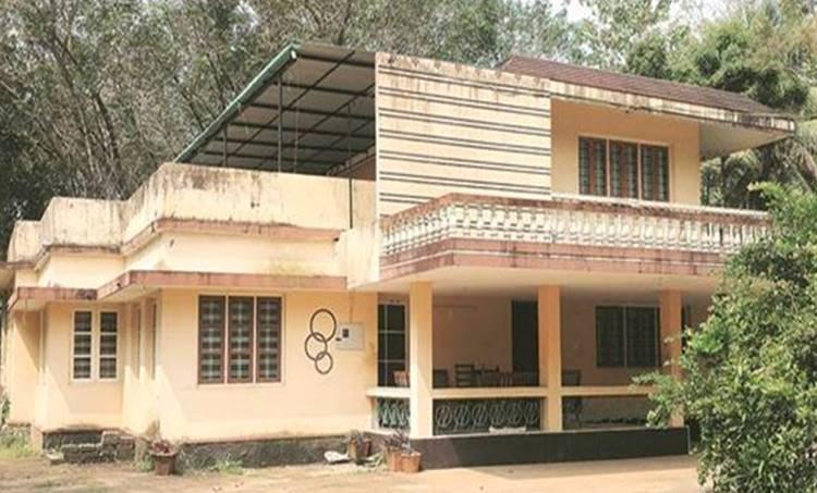 The house near Kochi where the yoga centre ran