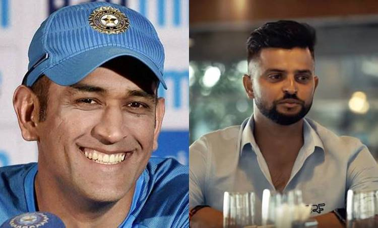 MS Dhoni is not so cool on field Suresh Raina