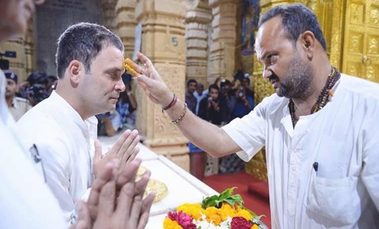 Rahul Gandhi, Congress, Somnath temple, rahul gandhi somnath temple, gir somnath, BJP, Gujarat elections 2017, Gujarat polls, Gujarat elections, India news