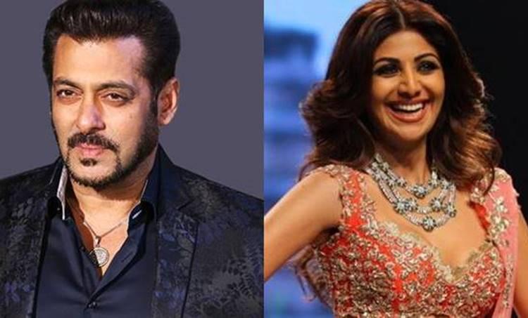 Salman Khan, Shilpa Shetty