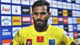 CK Vineeth, Penalty, Refferree, Kerala Blasters, Chennain FC
