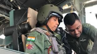 Defence Minister Nirmala Sitharaman being familiarised with the Sukoi-30 MKI in Jodhpur on Wednesday