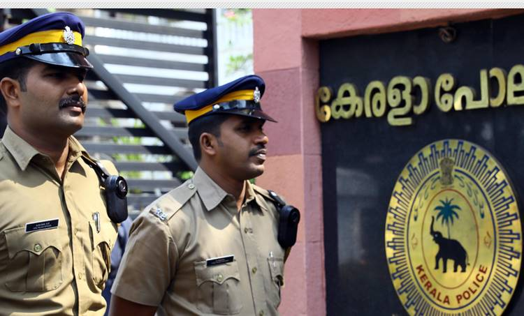 kerala police surveillance camera