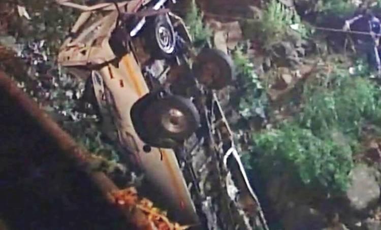 Maharashtra, Kolhapur, Kolhapur accident, Kolhapur minibus accident, Kolhapur bus accident, Indian Express