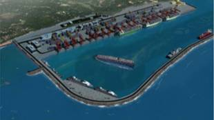 vizhinjam port adani port ceo resigned,