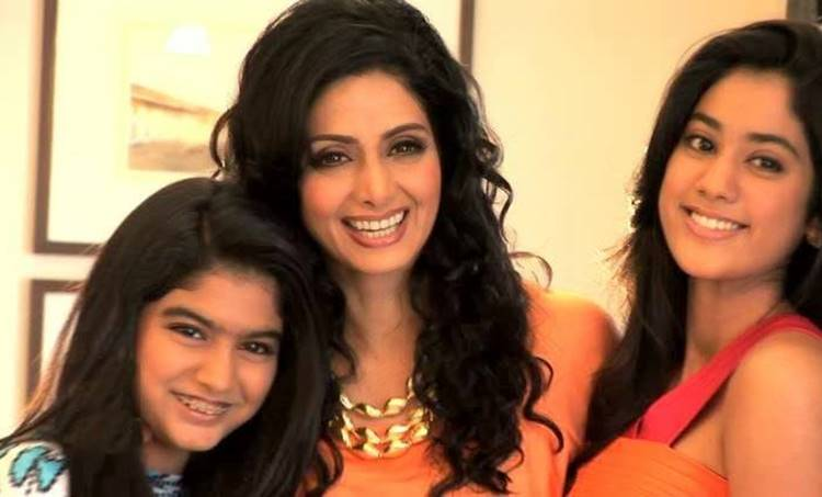 Sridevi, Daughters