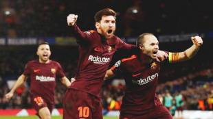 barcelona, lionel messi, chelsea, barcelona vs chelsea, barca vs chelsea, champions league, football news, sports news, indian express